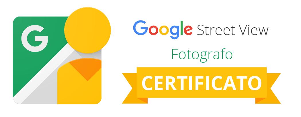 Fotografao certificato Google Maps Business Street View