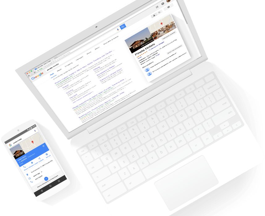 Primi su google con My Business, Scheda Google My Business ,verificata, attiva